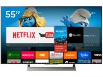Smart TV LED 55 Sony 4K/Ultra HD XBR-55X905E - Android Conversor Digital Wi-Fi 4 HDMI 3 USB