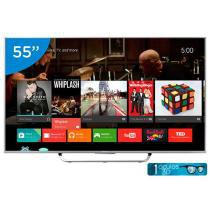 Smart TV LED 55 Sony Full HD 3D KDL-55W805C - Conversor Digital 1 Óculos 3D Wi-Fi 4 HDMI 2 USB