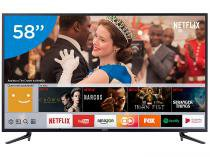 Smart TV LED 58 Samsung 4K/Ultra HD 58MU6120 - Tizen Conversor Digital Wi-Fi 3 HDMI 2 USB