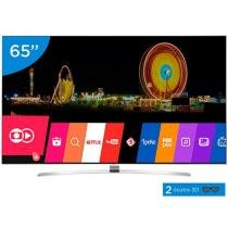 Smart TV LED 65 LG 4K Ultra HD 3D 65UH9500 - Conversor Digital 3 HDMI 3 USB Wi-Fi 2 Óculos