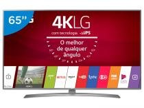Smart TV LED 65 LG 4K/Ultra HD 65UJ6585 WebOS - Conversor Digital 2 USB 4 HDMI