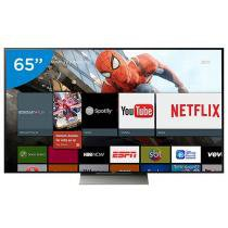 Smart TV LED 65 Sony 4K/Ultra HD 3D XBR-65X935D - 1 Óculos Wi-Fi 4 HDMI 3 USB