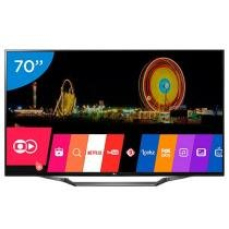 Smart TV LED 70 LG 4K Ultra HD 70UH6350 - WebOS Conversor Digital 3 HDMI 2 USB Wi-Fi