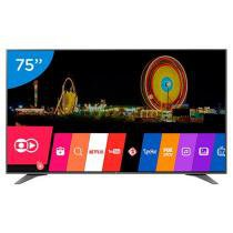 Smart TV LED 75 LG 4K Ultra HD 75UH6550 - Conversor Digital 3 HDMI 3 USB Wi-Fi