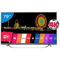 Smart TV LED 79 4K LG 79UF7700 Ultra HD - Conversor Integrado 3 HDMI 3 USB Wi-Fi