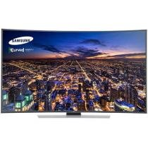 "Smart TV LED Curva 3D 78"" Samsung HU9000 Ultra HD - Conversor Integrado 4 HDMI 3 USB Wi-Fi"