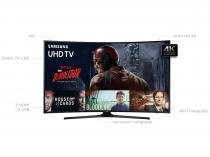 Smart TV LED Curva 49 Samsung 4K Ultra HD - 49KU6300 Conversor Digital 3 HDMI 2 USB