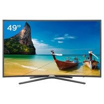 Smart TV LED Curva 49 Samsung Full HD 49K6500 - Conversor Digital 3 HDMI 2 USB Wi-Fi