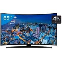 Smart TV LED Curva 65 Samsung 4k/Ultra HD Gamer - UN65JU6700 Wi-Fi 4 HDMI 3 USB
