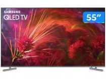 Smart TV QLED 55 Samsung 4K/Ultra HD 55Q6FAMGXZD - Tizen Conversor Digital 4 HDMI 3 USB DLNA