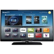 "Smart TV Slim LED 42"" Philips 42PFL3508G Full HD - Conversor Integrado 2 HDMI 2 USB 120Hz"