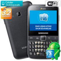 Smartphone 3G Dual Chip Samsung Galaxy Y Pro Duos