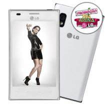 Smartphone 3G Dual LG Optimus L5 TIM Tringulo
