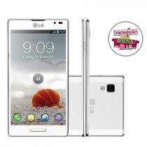 "Smartphone 3G LG Optimus L9 Desbl. Tim Android 4.0 - Câmera 8MP Tela 4.7"" Proc. Dual Core Wi-fi"
