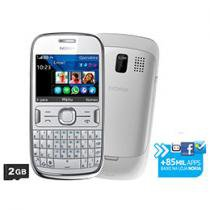 Smartphone 3G Nokia Asha 302 S40 Desbloq. Claro