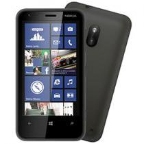 "Smartphone 3G Nokia Lumia 620 Windows Phone 8 - Câmera 5MP Tela 3.8"" Proc. Dual Core Des. Tim"