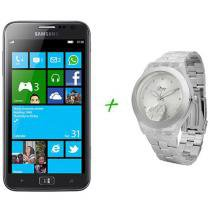Smartphone 3G Samsung Ativ S I8750 Windows Phone 8