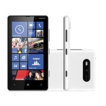 "Smartphone 4G Nokia Lumia 820 Windows Phone 8 - Câmera 8MP HD Tela 4.3"" Wi-Fi Proc. Snapdragon S4"