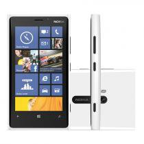 "Smartphone 4G Nokia Lumia 920 Windows Phone 8 - Câmera 8.7MP HD Tela 4.5"" Wi-Fi Proc Snapdragon S4"