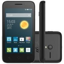 "Smartphone Alcatel One Touch PIXI 3(4) Dual Chip - 3G Câm. 8MP Tela 4"" Proc. Dual Core Desbl. Vivo"