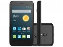 "Smartphone Alcatel PIXI3 3,5 4GB Preto Dual Chip - 3G Câm. 5MP Tela 3,5"" Proc. Dual Core Android 4.4"