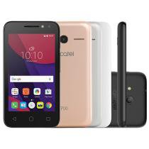Smartphone Alcatel PIXI4 4 Metallic 8GB Prata - Dual Chip 3G Câm. 8MP + Selfie 5MP Flash 4""