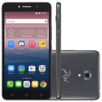 "Smartphone Alcatel PIXI4 6 Preto 8GB Dual Chip 3G - Câm 13MP + Selfie 8MP Flash Tela 6"" Proc Quad Core"