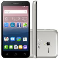 "Smartphone Alcatel Pop 3 8GB Dual Chip 3G - Câm. 8MP + 8MP Selfie Tela 5"" Desbl. Tim"