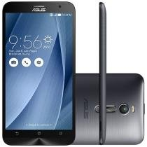 "Smartphone Asus ZenFone 2 32GB Dual Chip 4G - Câm. 13MP + Selfie 5MP 5,5"" Quad-Core Android 5"