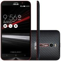 "Smartphone Asus ZenFone 2 Deluxe 128GB Carbon - Dual Chip 4G Câm 13MP + Selfie 5MP 5.5"" Full HD"