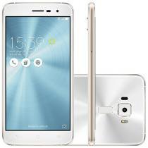 Smartphone Asus ZenFone 3 32GB Branco - Dual Chip 4G Câm. 16MP + Selfie 8MP Tela 5,2""