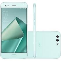 Smartphone Asus Zenfone 4 64GB Mint Green - Dual Chip 4G Câm 12MP e 8MP + Selfie 8MP Tela 5,5""