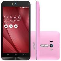 "Smartphone Asus ZenFone Selfie 32GB Rosa Dual Chip - 4G Câm. 13MP + Selfie 13MP Flash Tela 5.5"" Full HD"
