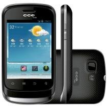 "Smartphone CCE SM55 Dual-Chip 3G Android 2.3 - Câmera 2MP Tela 3.2"" Proc. Qualcomm Snapdragon"