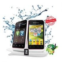 Smartphone Dual Chip 3G Rosa Defy Mini