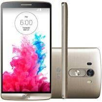 "Smartphone LG G3 16GB 4G C��m. 13MP - Tela 5.5"" Proc. Quad Core Android 4.4"