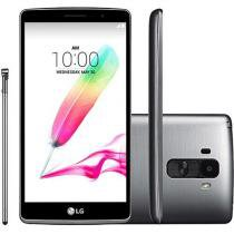 "Smartphone LG G4 Stylus HDTV 16GB Dual Chip 3G - Câm. 13MP + Selfie 5MP Tela 5.7"" Proc. Octa Core"