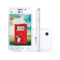 "Smartphone LG L40 Dual Chip 3G Câm. 3MP - Tela 3.5"" Proc Dual Core TV Digital Android 4.4"