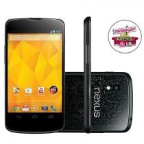 "Smartphone LG Nexus 4 Android 4.2 Câmera 8MP - Tela 4,7"" Proc. Quad Core Wi-Fi GPS Bluetooth 4.0"