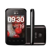 "Smartphone LG Optimus L1 II Tri Chip Android 4.1 - 3G C��mera 2MP Tela 3"" Wi-Fi GPS MP3 Player"