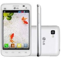 "Smartphone LG Optimus L4 II Dual Chip 3G - Câm. 3MP Tela 3.8"" Android 4.1 Desbl. Tim"