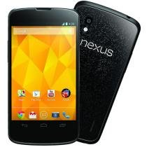 "Smartphone LG Optimus Nexus 4 Single Android 4.2 - 3G Câmera 8MP Tela 4,7"" Proc. Quad Core Wi-Fi GPS"