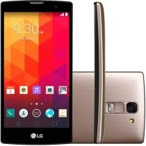 "Smartphone LG Prime Plus TV 8GB Dual Chip 3G - Câm. 8MP Tela 5"" Proc. Quad Core Cartão 8GB"