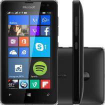 "Smartphone Microsoft Lumia 532 8GB Dual Sim DTV - 3G Câm. 5MP Tela 4"" Proc. Quad Core Windows Phone"