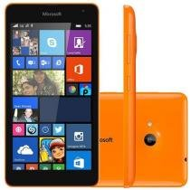 "Smartphone Microsoft Lumia 535 8GB Dual Chip 3G - Câm. 5MP Tela 5"" Proc. Quad Core Windows Phone 8.1"