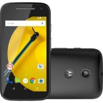 "Smartphone Motorola Moto E DTV Colors 2° Geração - 16GB Dual Chip 4G Câm. 5MP Tela 4.5"" Quad Core"