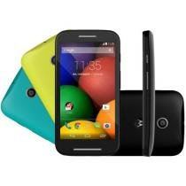 "Smartphone Motorola Moto E DTV Colors Dual Chip 3G - Câm. 5MP Tela 4.3"" Proc. Dual Core Android 4.4"