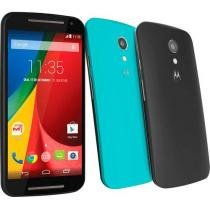 "Smartphone Motorola Moto G DTV Colors Dual Chip 3G - Android 4.4 Câm. 8MP Tela 5"" Proc. Quad Core Wi-Fi"