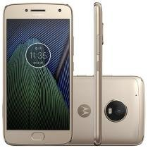 Smartphone Motorola Moto G5 Plus 32GB Ouro - Dual Chip 4G Câm. 12MP + Selfie 5MP Tela 5.2""