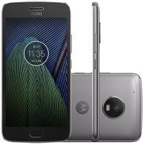 "Smartphone Motorola Moto G5 Plus 32GB Platinum - Dual Chip Câm. 12MP + Selfie 5MP Tela 5.2"" Full HD"